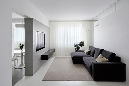 Design of a two-room apartment
