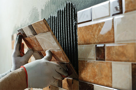 Laying tiles RBT