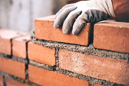 Masonry of bricks - RBT