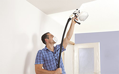 paint-the-ceiling-spray-gun