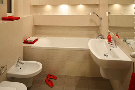 Идеи для маленькой ванной комнаты